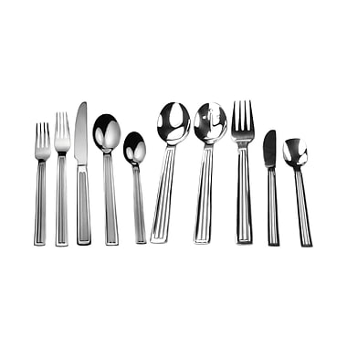 David Shaw Silverware Splendide Vale 45 Piece Flatware Set