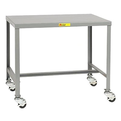Little Giant USA Mobile Steel Top Workbench; 18'' H x 36'' W x 24'' D