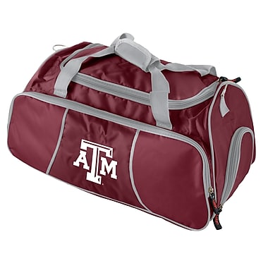 Logo Brands NCAA 21'' Gym Duffel; Texas A&M