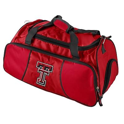 Logo Brands NCAA 21'' Gym Duffel; Texas Tech