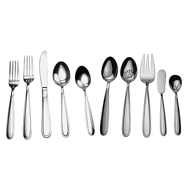 David Shaw Silverware Splendide Moselle 45 Piece Flatware Set