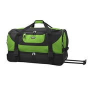 Travelers Club Adventure 30'' 2 Wheeled Duffel; Green