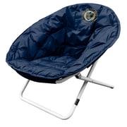 Logo Brands MLS Sphere Papasan Chair; Philadelphia Union