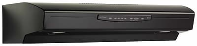 Broan 42'' 430 CFM Convertible Under Cabinet Range Hood; Black