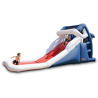 Blast Zone Great White Water Slide