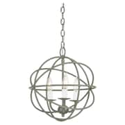 JVI Designs Globe 3-Light Globe Pendant