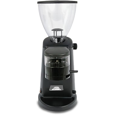 Ascaso Doserless Electric Flat Burr Coffee Grinder; Polished Aluminum