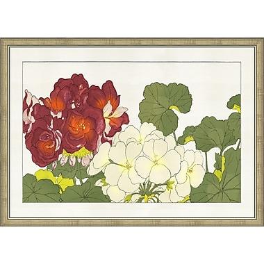 Melissa Van Hise Eastern Blooms II Framed Graphic Art