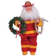 Santa's Workshop Fireman Santa