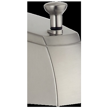 Delta Rizu Hub Diverter Bathroom Faucet; Brilliance Stainless