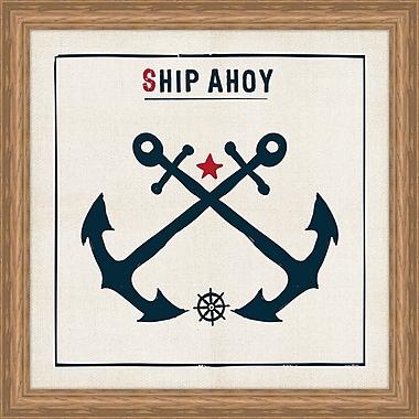 Melissa Van Hise Ship Ahoy Framed Graphic Art