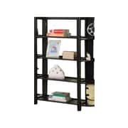 InRoom Designs 42'' Etagere Bookcase; Espresso/Espresso