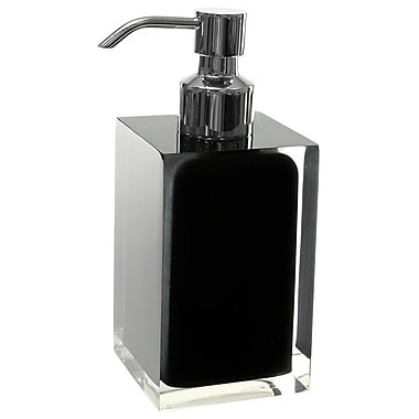 Gedy by Nameeks Rainbow Soap Dispenser; Red