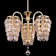 Dale Tiffany Abbey 3-Light Crystal Chandelier