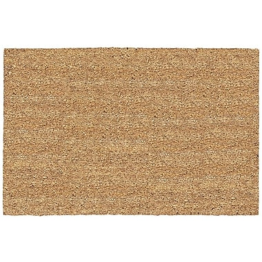US Cocoa Mat DeCoir Solid Doormat; 24'' x 36''