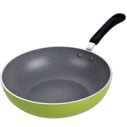 Cook N Home Non-Stick Forged 12-Inch Wok Pan w/ Induction Compatible Bottom