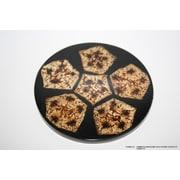 DestiDesign Laminated Mahagony Seed Coaster (Set of 6)