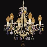 Dale Tiffany Yorkshire 6-Light Crystal Chandelier