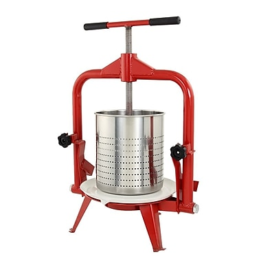 TSM Products Harvest Deluxe Stainless Steel Fruit and Wine Juicer