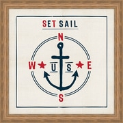 Melissa Van Hise Set Sail Framed Graphic Art