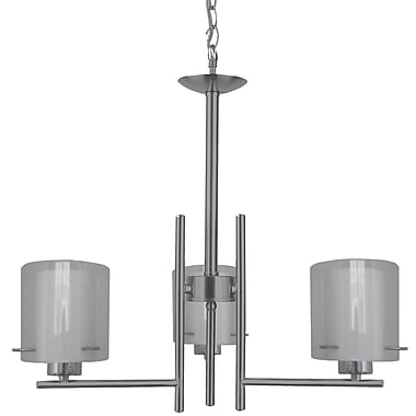 Whitfield Lighting Dominic 3-Light Candle-Style Chandelier