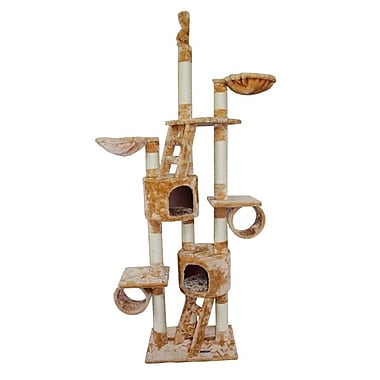 Kitty Mansions New York Cat Tree; Beige