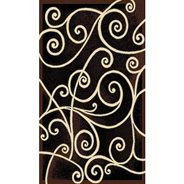 American Cover Designs Gallery Black Area Rug