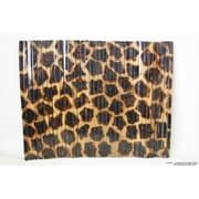 DestiDesign Lacquered Wood Giraffe Print Placemat (Set of 4)