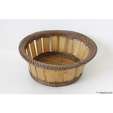 DestiDesign Round Bamboo Slat Tray