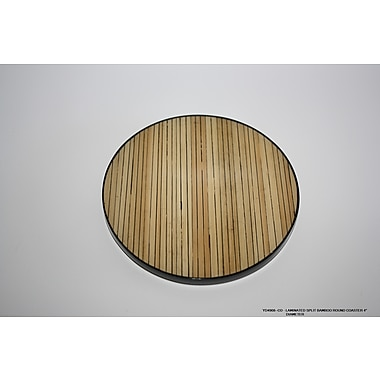 DestiDesign Laminated Split Bamboo Coaster (Set of 6)