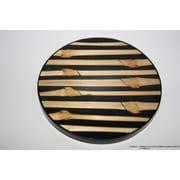 DestiDesign Laminated Vertical Bamboo Coaster (Set of 6)