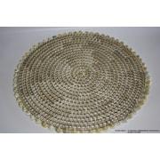 DestiDesign Natural Pandan Weave Shell Placemat (Set of 4)