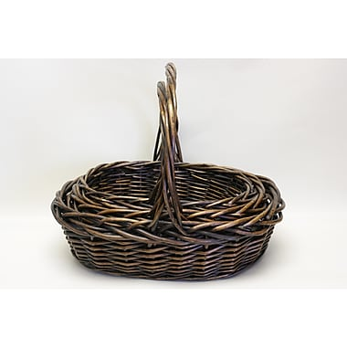 DestiDesign 3 Piece Oval Willow Basket Set