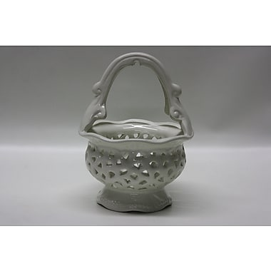 DestiDesign Lacy Ceramic Candy Basket