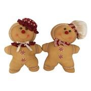 Craft Outlet 2 Piece Gingerbread Man Set