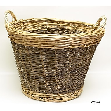 DestiDesign Round Wicker Laundry Basket