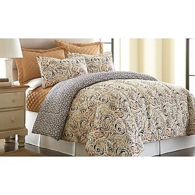 Amrapur Mavia 6 Piece Reversible Comforter Set; Queen