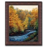 HadleyHouseCo Autumn Stream by Charles White Framed Painting Print; 27'' H x 23'' W x 0.5'' D