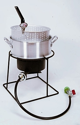 King Kooker Welded Outdoor Fish Fryer Package