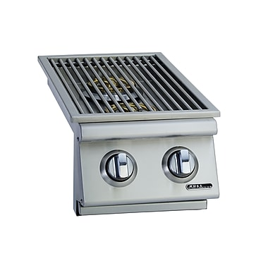 Bull Outdoor Slide-In Natural Gas Double Side Burner