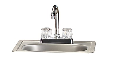 Bull Outdoor Stainless Steel Sink w/ Faucet WYF078276677468