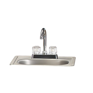 Bull Outdoor Stainless Steel Sink w/ Faucet