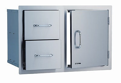 Bull Outdoor Stainless Steel Door / Cabinet Combo