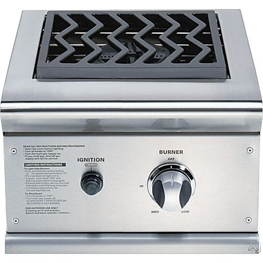 DCS Grills 30'' Built In Single Side Burner for Gas Grill