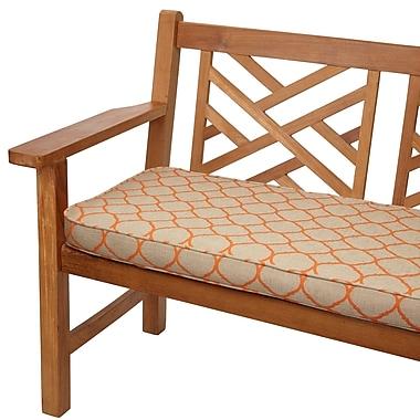 Mozaic Company Outdoor Sunbrella Bench Cushion; 48'' W x 19'' D