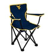 Logo Brands NCAA Toddler Kids Chair; West Virginia