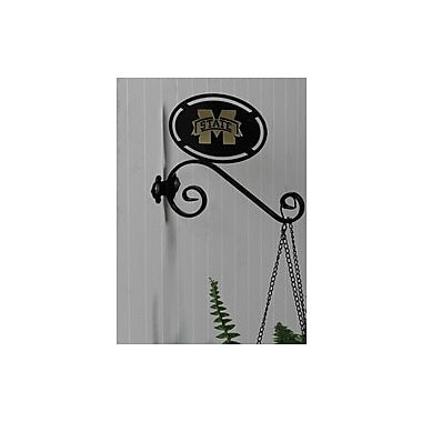 HensonMetalWorks Collegiate Wall Mounted Plant Hanger; Mississippi State