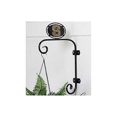 HensonMetalWorks Collegiate Angled Wall Mounted Plant Hanger; North Carolina State