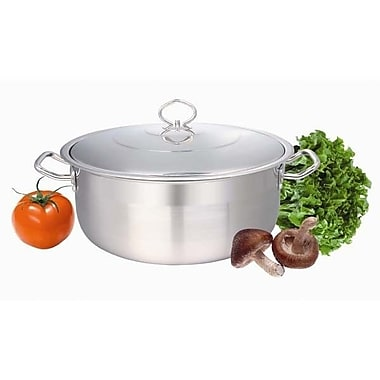 Concord Stock Pot w/ Lid; 26 Quart