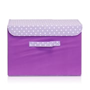 Furinno Storage Bin; Purple